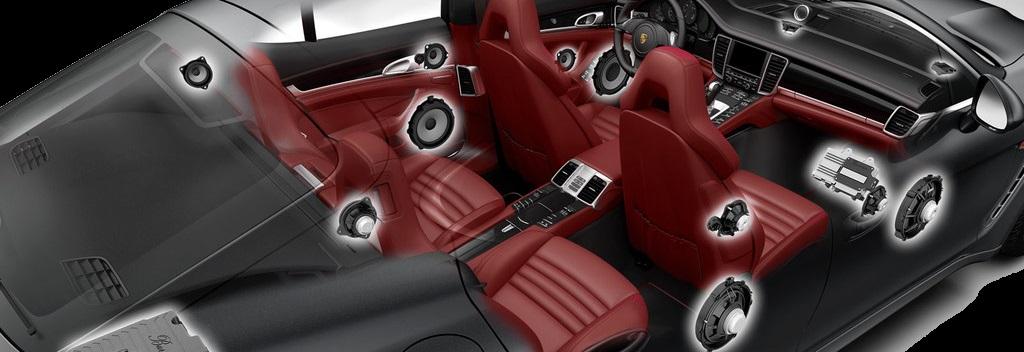 Car Hi-Fi audio