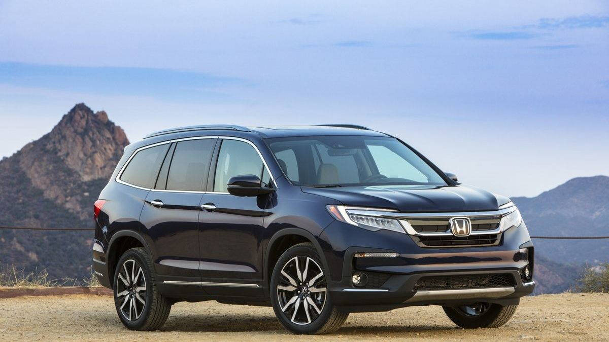 2021 Pilot: A Large SUV from Honda