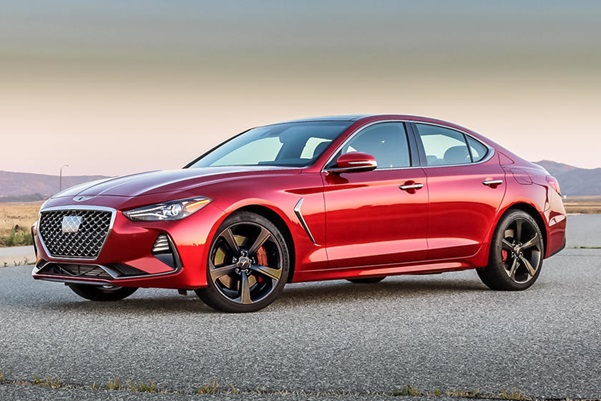 Luxury Elements Listed in the 2021 Genesis G70 Model Series